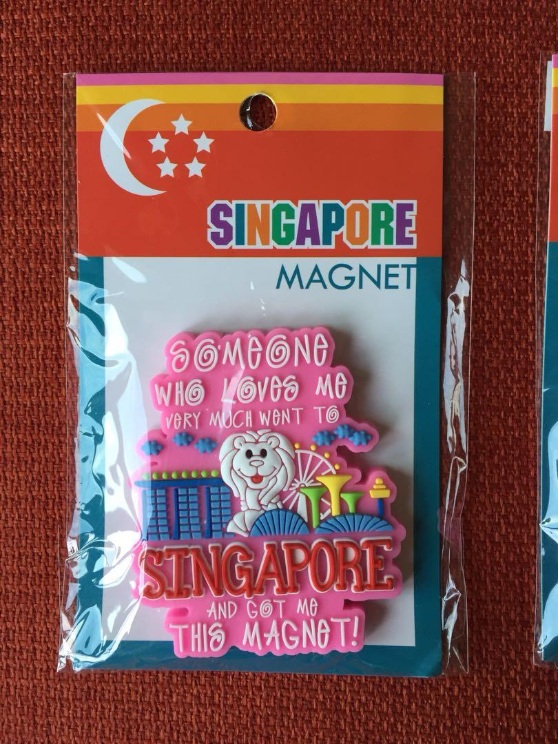 Singapore 🇸🇬 Souvenir Magnet