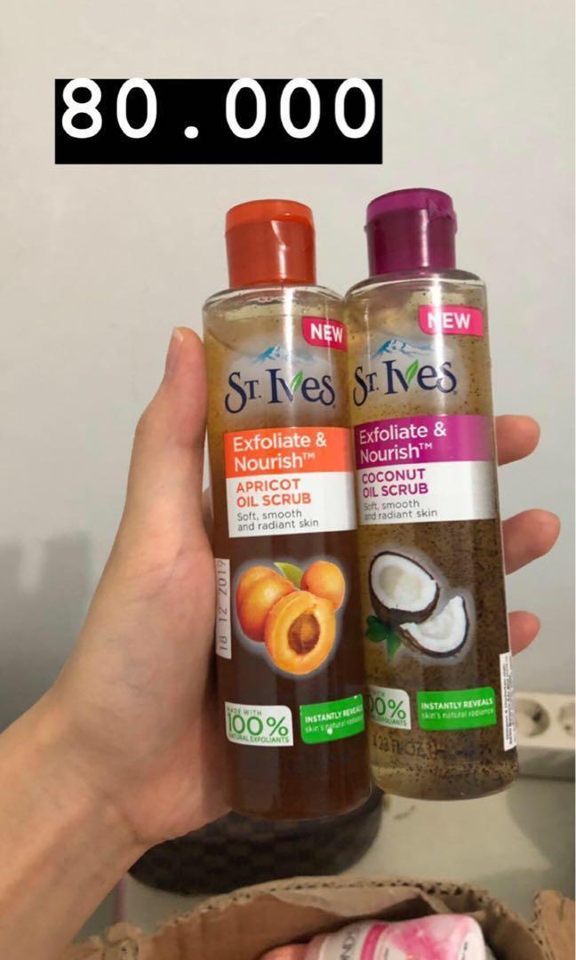 St ives oil scrub