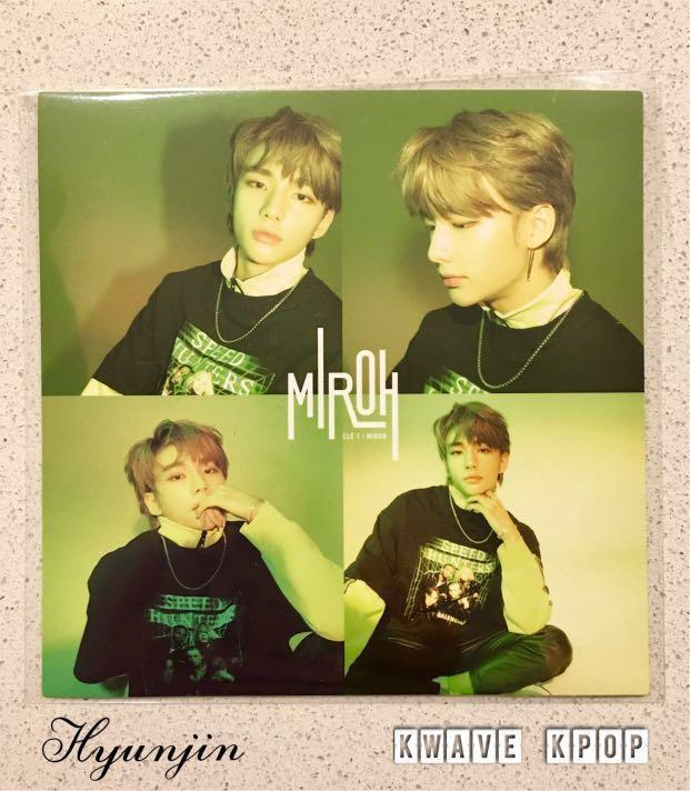 ✨STRAY KIDS CLE 1 : MIROH✨ -OFFICIAL 4 CUT PHOTO STICKER ONLY - SELECT MEMBER ✈️FREE SHIPPING INTERNATIONAL & DOMESTIC