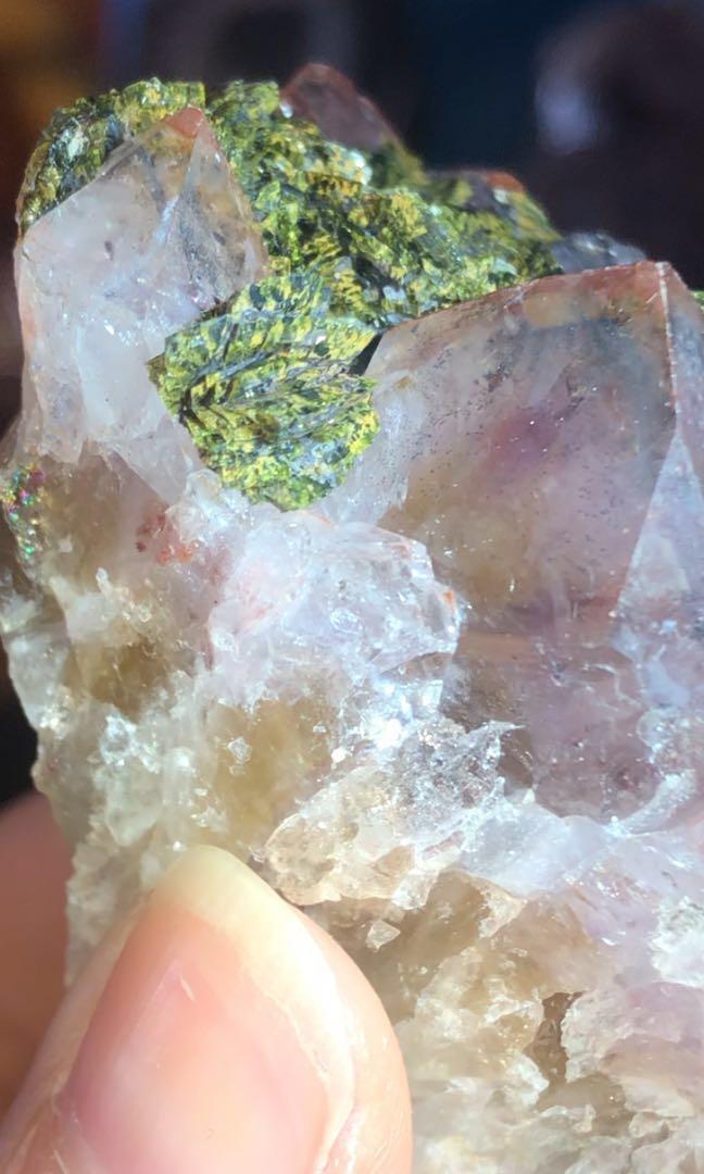 巴西/橙紅超七/黑超七/金字塔/黃水晶/綠簾石/綠碧璽/超級七/Super Seven/三輪骨幹水晶/水晶簇/超七原石/原礦石