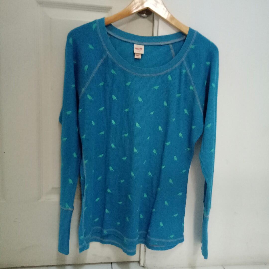 Sweater Birdie Biru