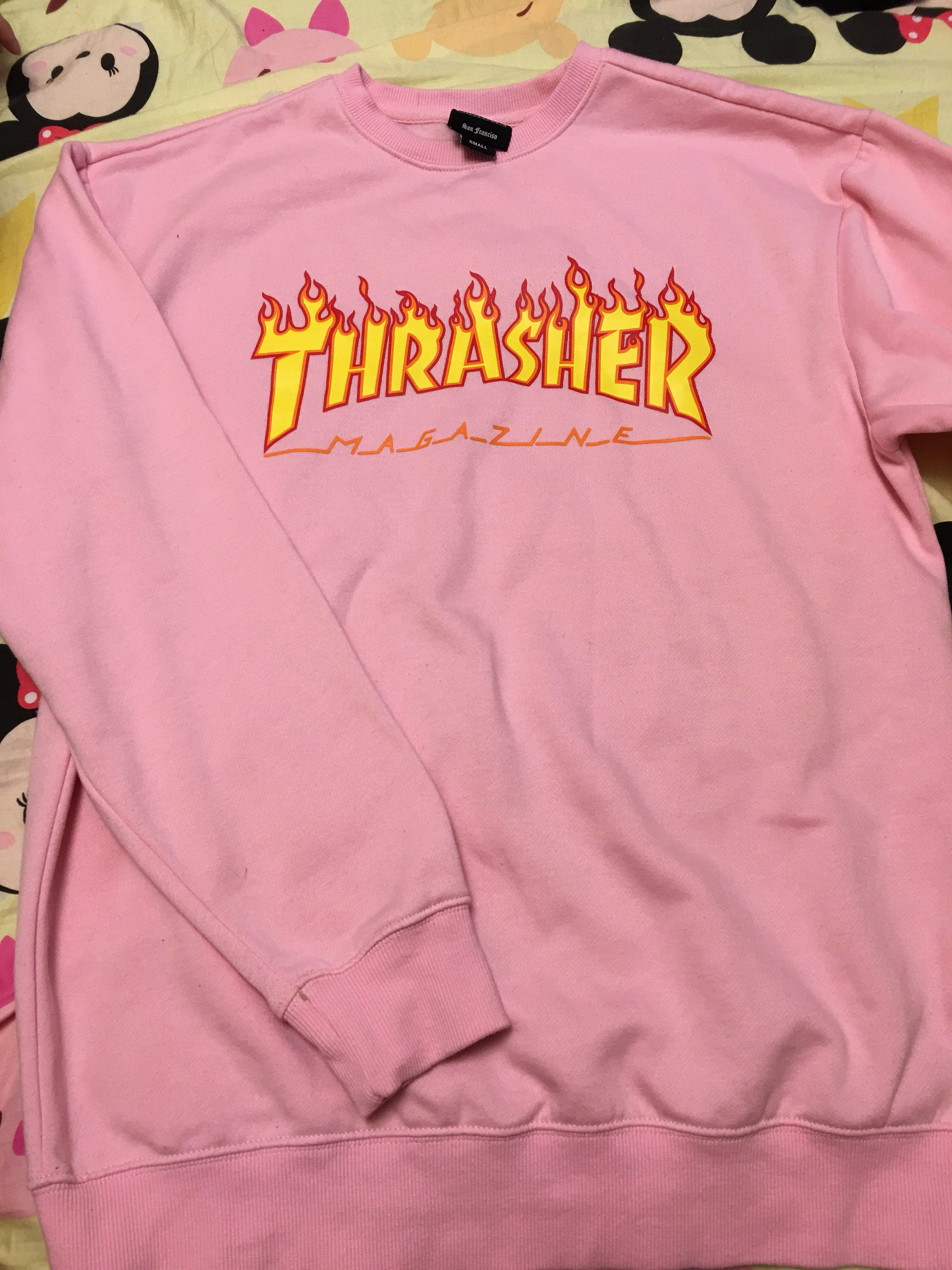Thrasher 衛衣 無帽
