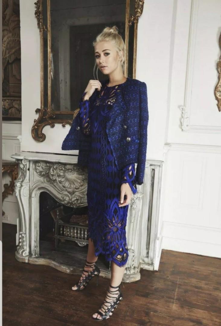 Thurley Nightfall Lace Dress - Size 10 - RRP $599.99 --