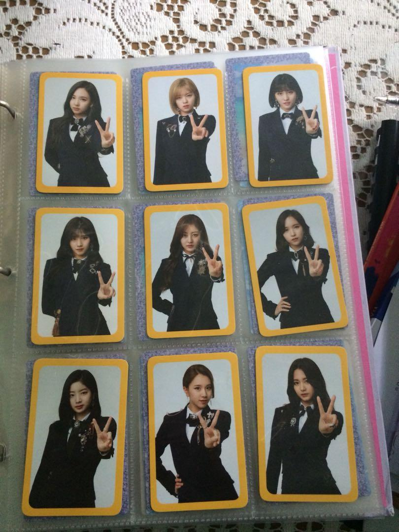 TWICE PHOTOCARD SETS FOR SALE AS WELL AS RANDOM ALBUM CARDS(LIMITED OFFER)