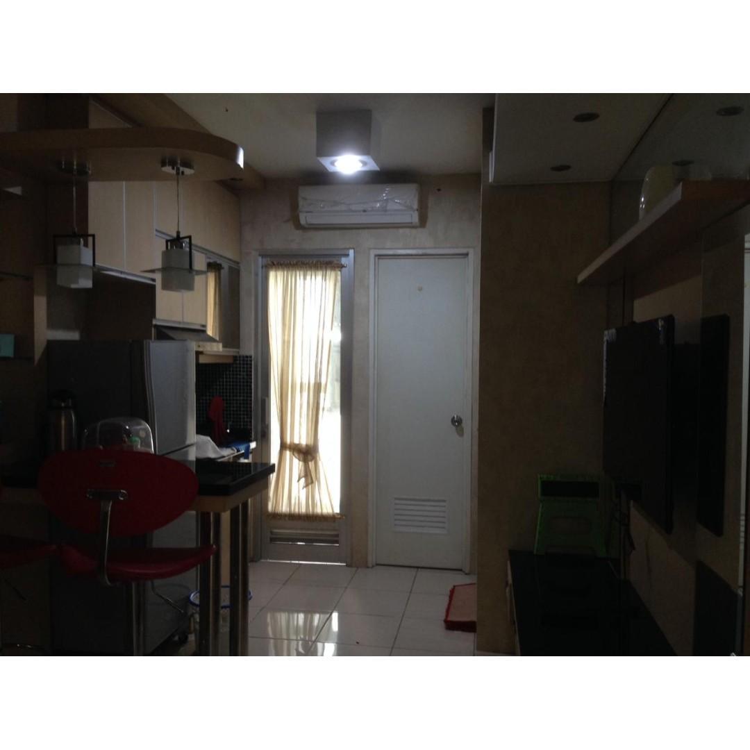 Unit Apartement Greenbay 2 kamar tower D