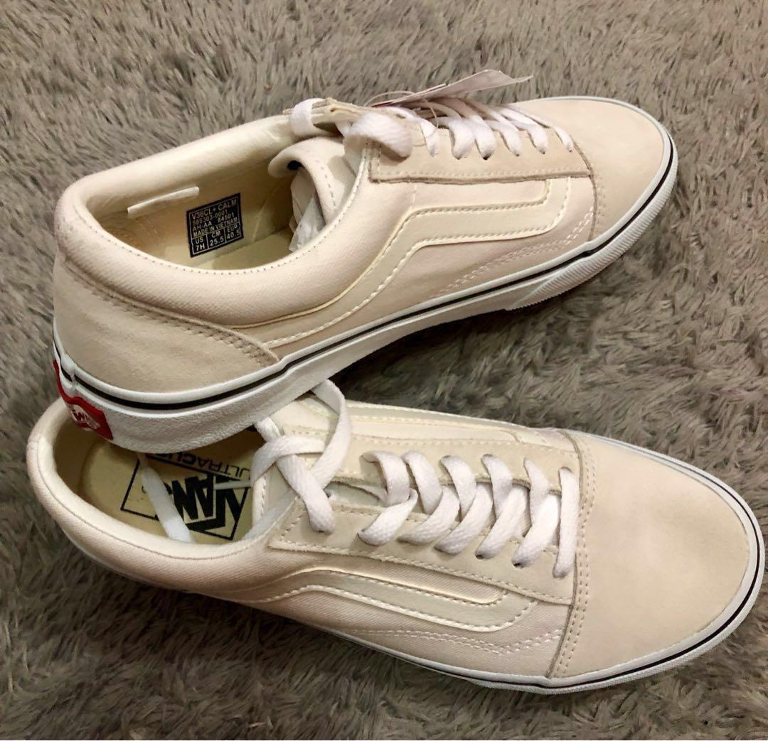 VANS V36CL + CALM OLDSKOOL DX MARSHMALLOW ORI JAPAN MARKET