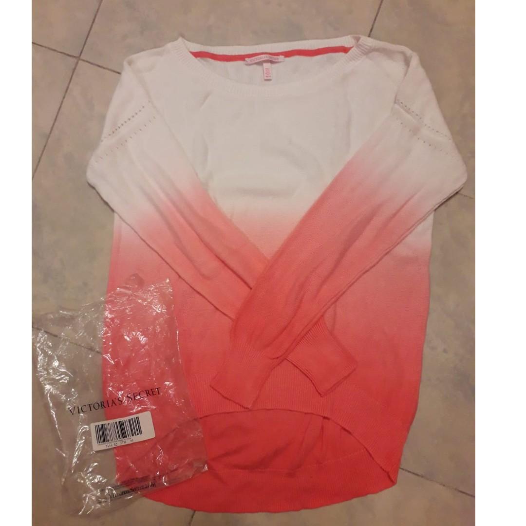 美牌 Victoria Secret 綿質 Cotton Top PINK 漸進粉 size: M $72 包郵