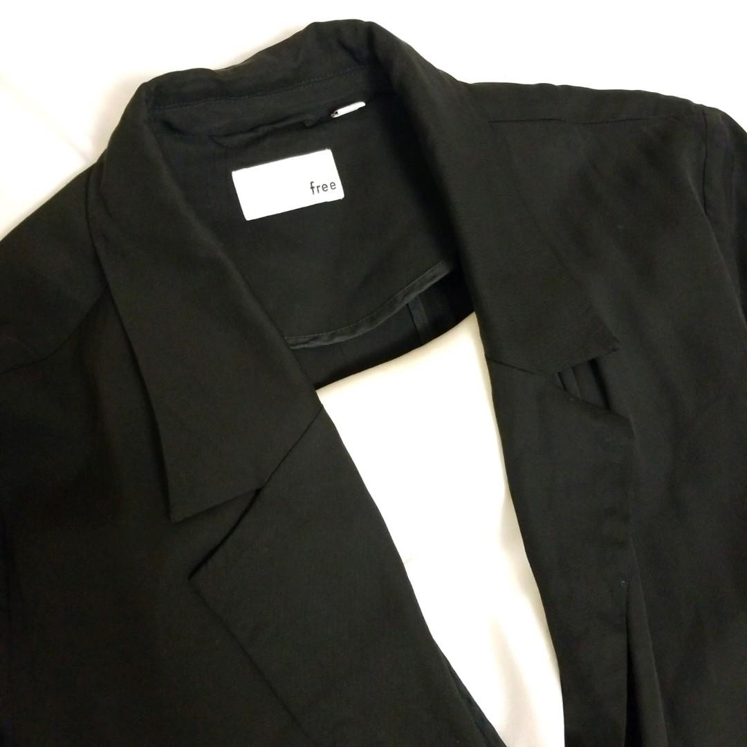Wilfred free black duster size small