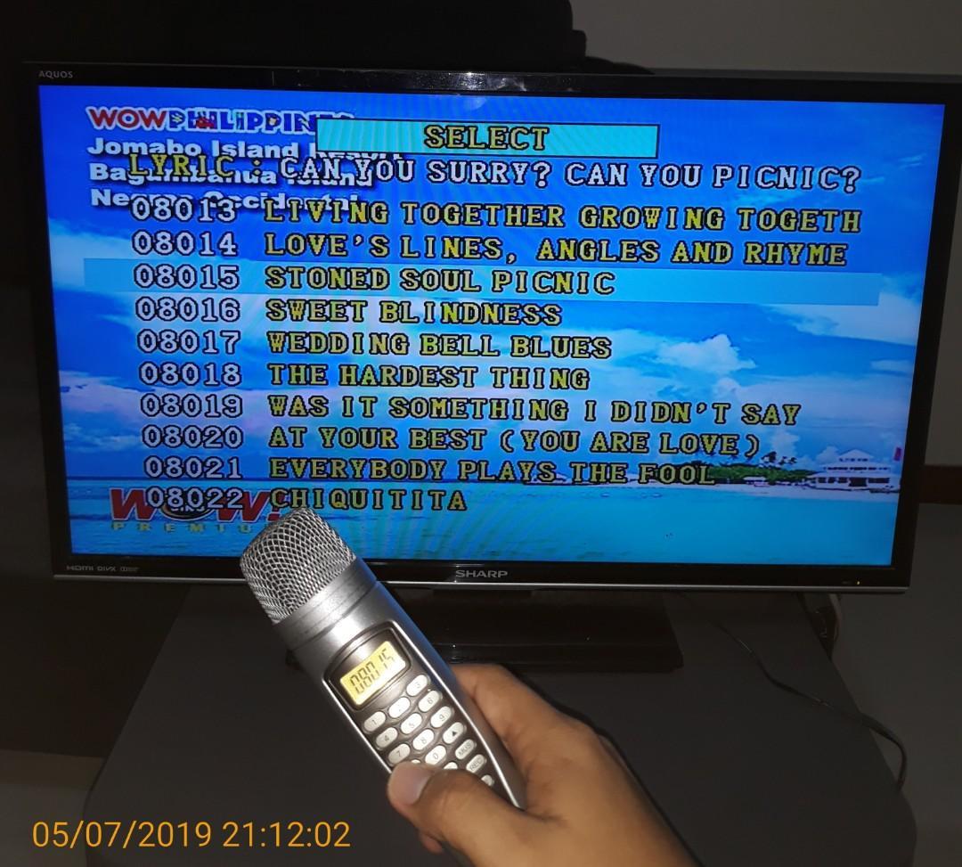 Wow Magic Sing Mic ED8000
