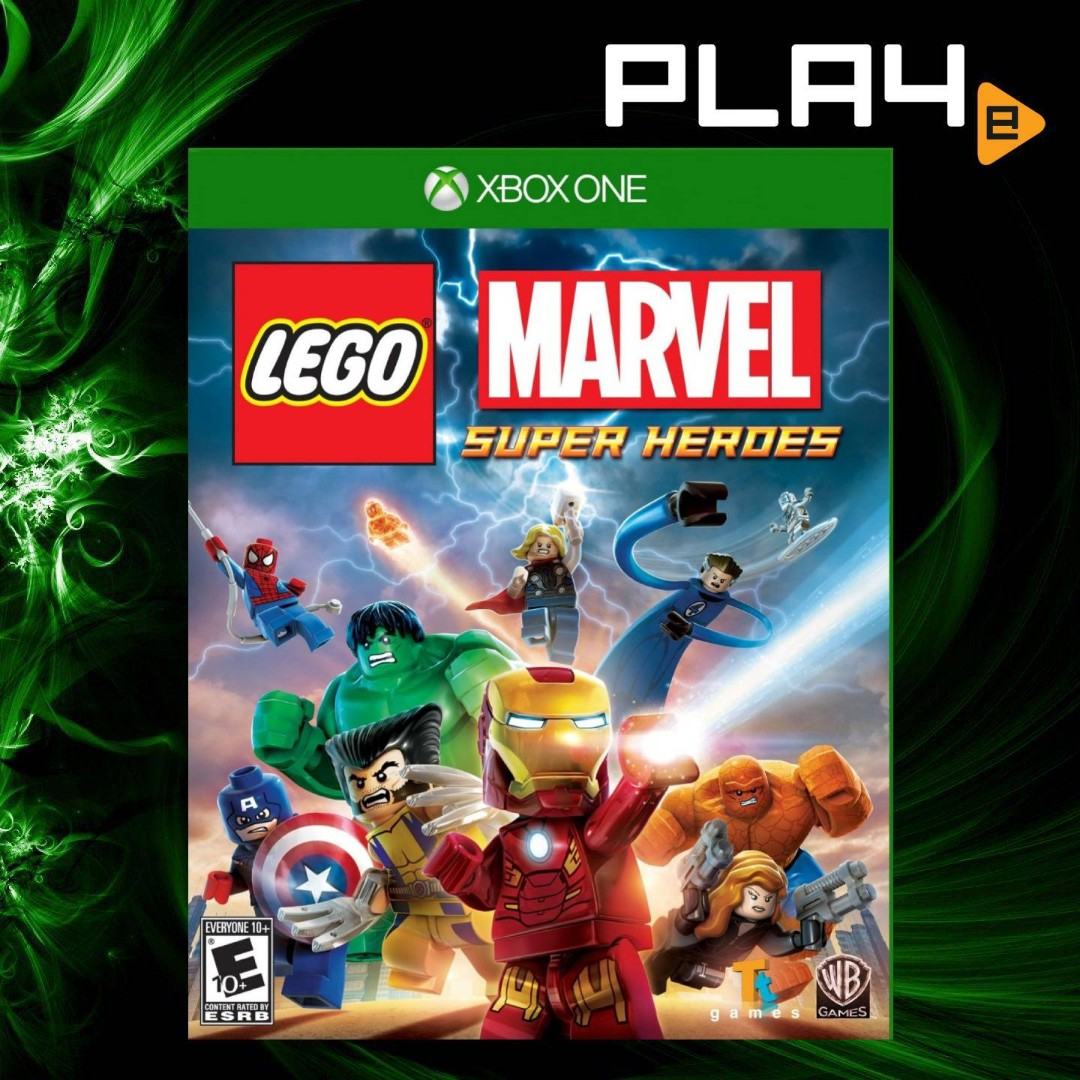 Xbox One Lego Marvel Super Heroes Brand New Toys Games Video