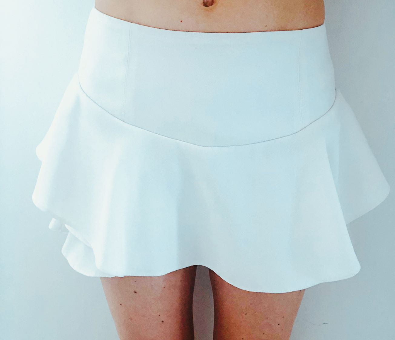 Clothing, Shoes & Accessories Honey Zara White Mini Skirt Size Xs Skirts