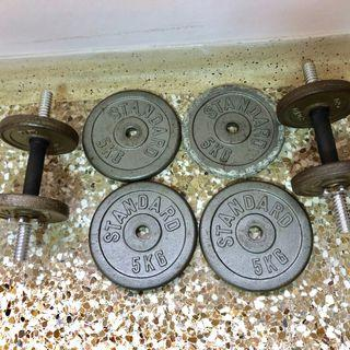 dumbbell 5kg | Weights & Gym Equipment | Carousell Singapore