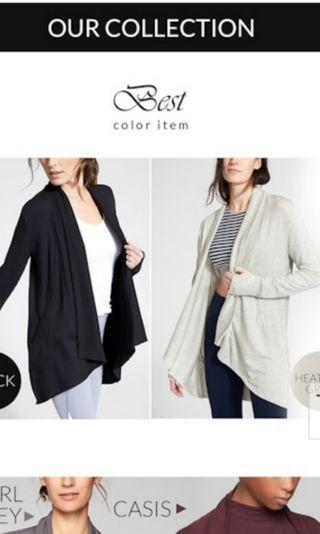 BN plus size thick cardigans. 1 x Grey