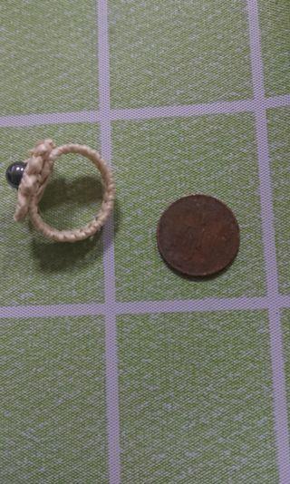 🚚 手工編織戒指
