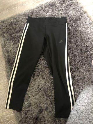 Adidas size small crop leggings