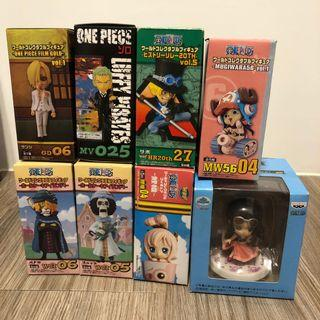 One piece x 8 boxes