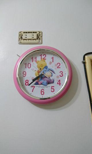 小熊維尼掛鐘