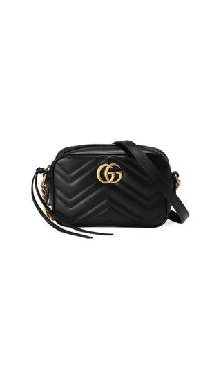 15d3db2cd482 Gucci Marmont Cross Body Bag, Luxury, Bags & Wallets, Sling Bags on  Carousell