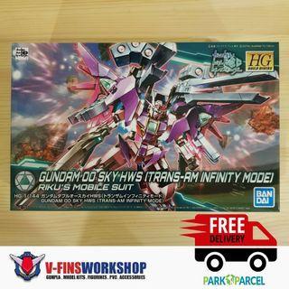 HG Gundam OO Sky HWS (Trans-am mode)