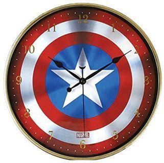 美國隊長-盾牌時鐘