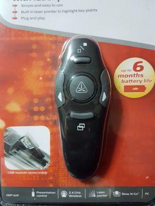 Brand New Wireless Presenter with Laser Pointer