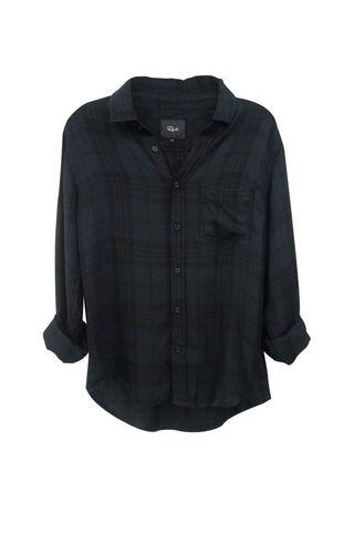 RAILS Lennox Charcoal Button Down