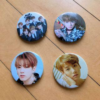 BTS Jungkook Button Badges