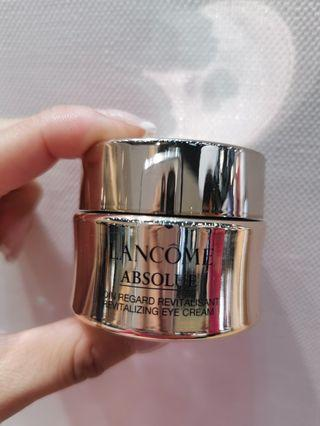 全新LANCOME ABSOLUE EYE CREAM 20ML