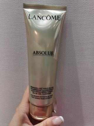 LANCOME ABSOLUE OIL IN GEL CLEANSER