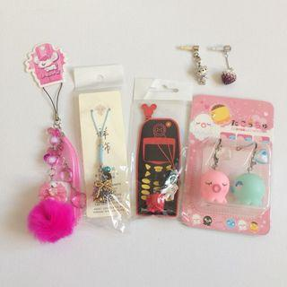 Cell Phone Charms Bundle