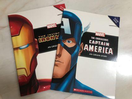 Marvel Captain America (Ironman is taken)