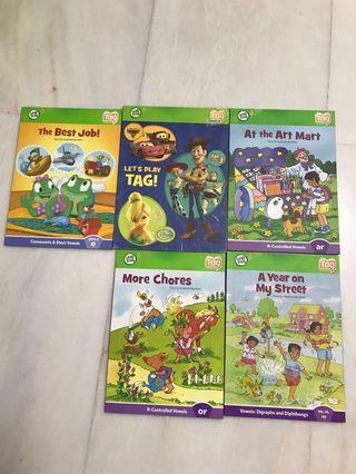 Lead frog Tag books