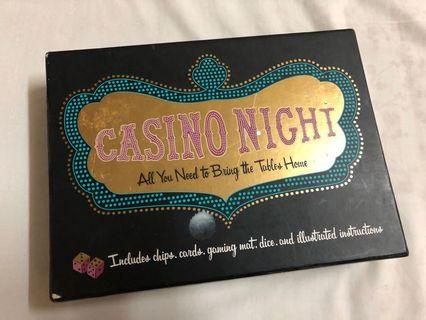 Casino Night Gaming Set