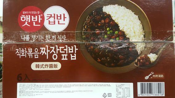 🚚 🌟期間限定!CJ 即食韓式炸醬飯 280公克X6入-吉兒好市多COSTCO代購
