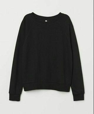 H&M sweatshirt black