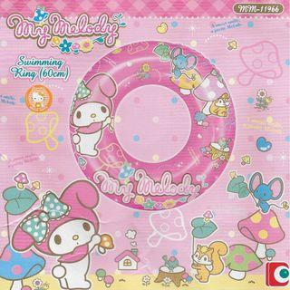 Sanrio My Melody Pink 2016 Inflatable 60cm Swimming Ring Float