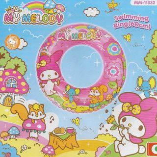 Sanrio My Melody Pink 2015 Inflatable 60cm Swimming Ring Float
