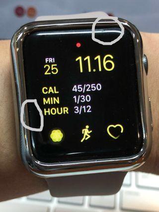 Apple Watch 3, 42mm Nike+ sport loop with GPS & LTE