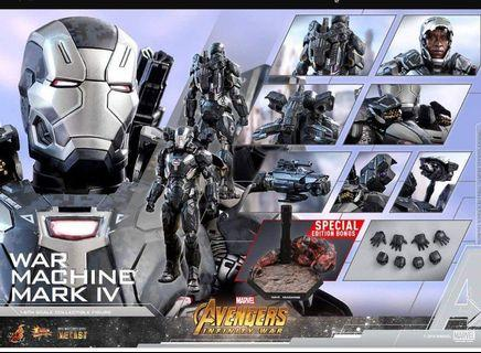 hot toys war machine mark 4 合金