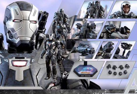hot toys war machine mark 4 普通版首日