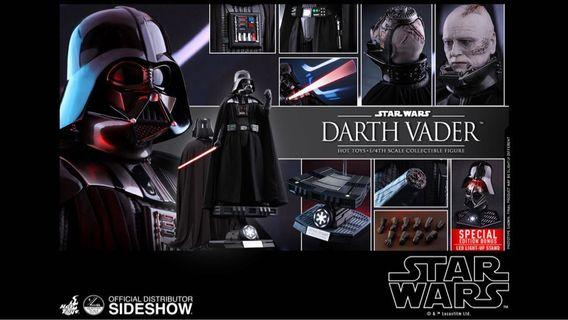 Hot toys star wars darth vader 1/4 動漫單