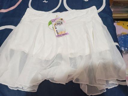 全新💖包順豐站👗🛍安全褲,蕾絲襯裙,褲裙,薄紗