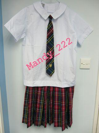 SPCS 聖保祿學校 夏季 校服 校裙 summer uniform St Paul's Convent School mandy_222 (SU022)