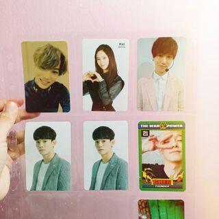 EXO | f(x) | Super Junior Photocard