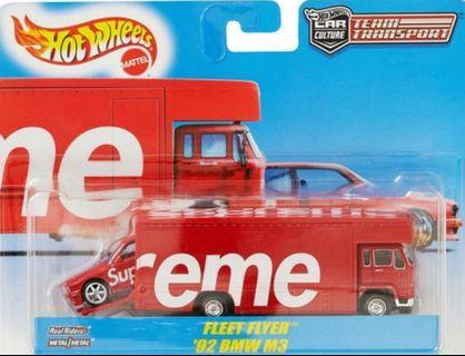 Hot Wheels Supreme Fleet Flyer '92 BMW M3(現貨)