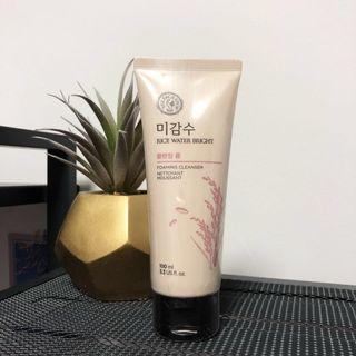 THE FACE SHOP Rice Water Bright Foaming Cleanser
