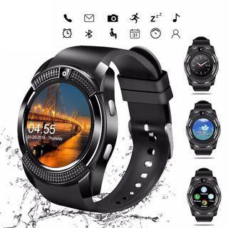 Smart Watch FULL HD IPS Bluetooth Sd SIM Phone Card Slot Call SMS Camera Brand