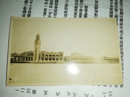 20年代 九龍 尖沙咀 火車站鐘樓 照片