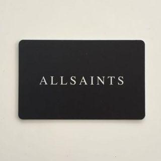 $146.90 AllSaints gift card