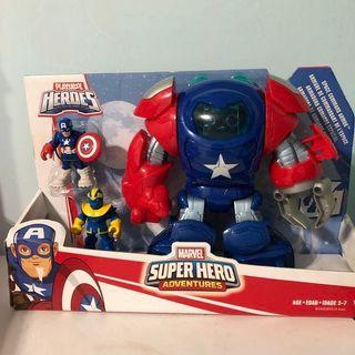 🚚 Marvel漫威英雄豪華組復仇者聯盟美國隊長薩諾斯